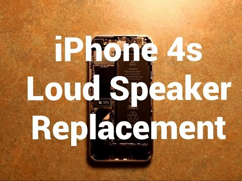iPhone 4s Loud Speaker Replacement How To Change