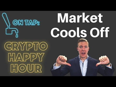 Market cools off as Institutional Crypto Interest Picks Up