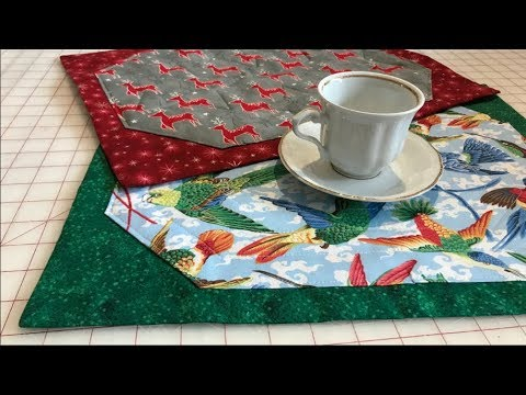 20 minute Placemat Tutorial