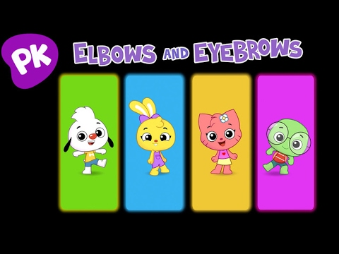 Elbows and Eyebrows | I Love to Learn: Songs for Kids, Preschool Music, Nursery Rhymes from PlayKids