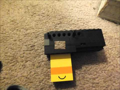 How to Make a Mini Lego Pistol That Shoots (Bolt-Action)