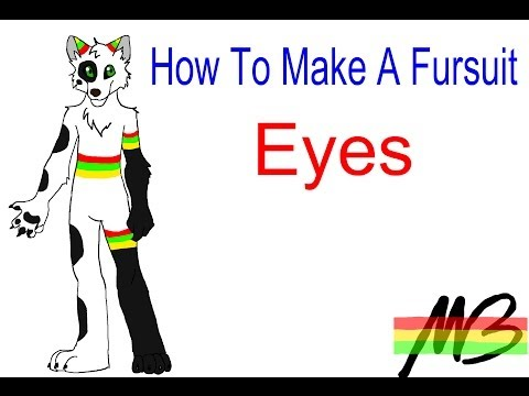 How To Make A Fursuit Tutorial-The Eye