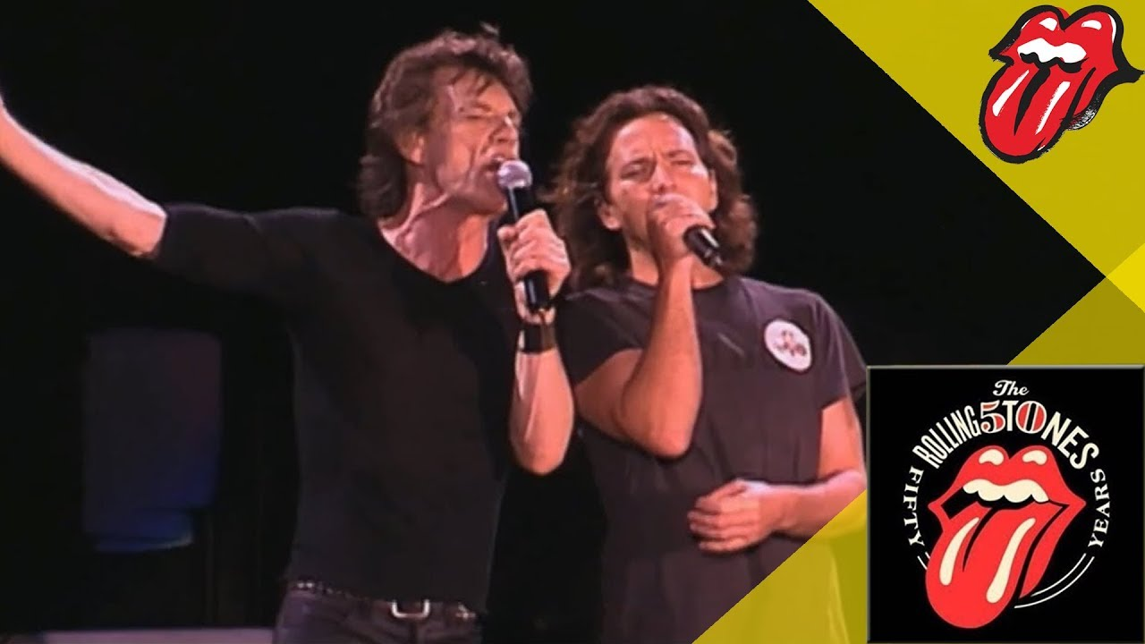 The Rolling Stones & Eddie Vedder - Wild Horses - Live OFFICIAL