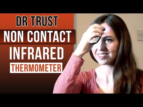 Dr Trust Non Contact INFRARED Thermometer - Quick Accurate Results for babies and adults
