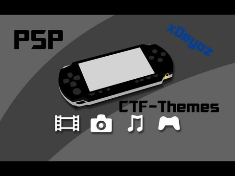 How to put CTF Themes on your PSP v. 6.60 - Tutorial [Deutsch] [HD]