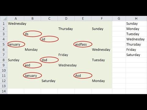 Excel Tip : Circle Invalid Data