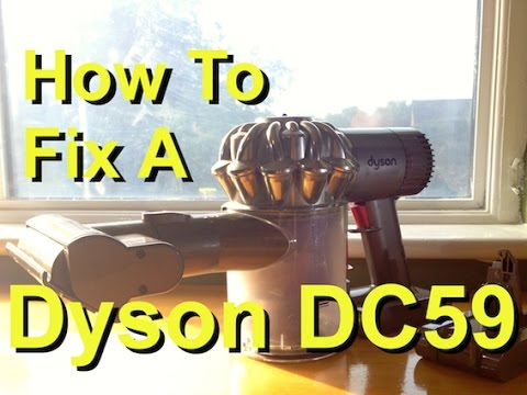 How To Fix A Dyson DC59 Animal