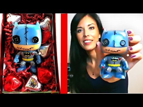 How to make a Custom Funko Pop Tutorial DIY Project Batman Voodoo Doll + Vinyl Painting tips