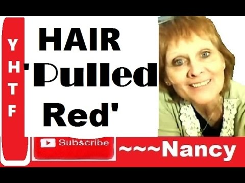 Pulling Red - Hair Color Result, Brassy Effect ~ How To Avoid, Cut Peroxide