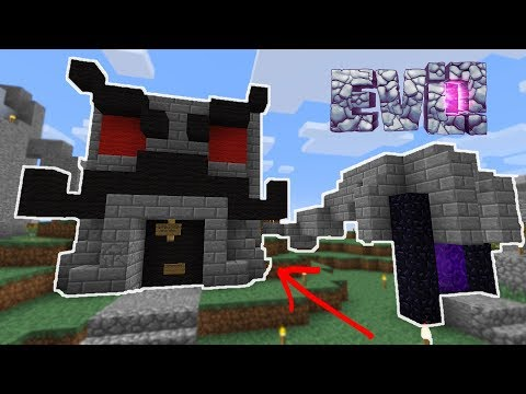 MAKING OUR FIRST SHOP! - Minecraft Evo #31