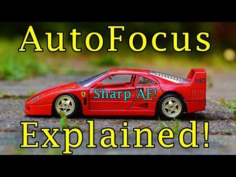 DSLR Camera Autofocus Explained Video and Photography Basics Camera 101