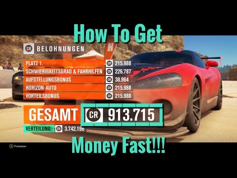 Forza Horizon 3 | How To Get Money Fast | 900'000 CR In 50 Minutes