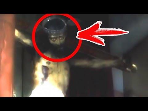 (мурашки по коже) 5 ОЖИВШИХ СТАТУЙ, снятых на камеру и замеченных в реальной жизни. Страшные истории