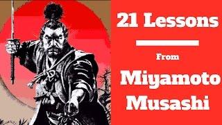 21 Life Lessons From Samurai Miyamoto Musashi