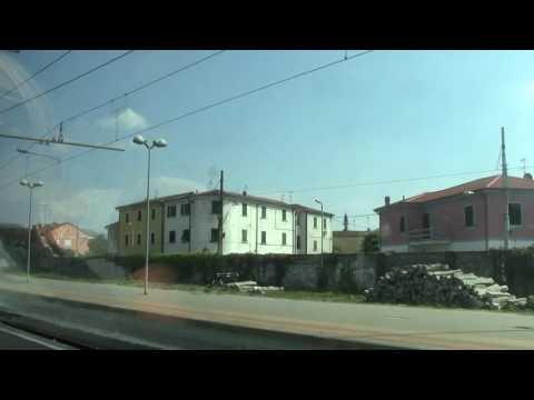 Sarzana HD-Departing Sarzana on service to La Spezia Centrale