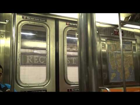 MTA NYC Subway Ride, R62A (1) Local Train to South Ferry