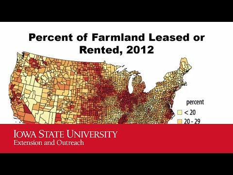 2016 Iowa Farmland Leasing - Rental Rates