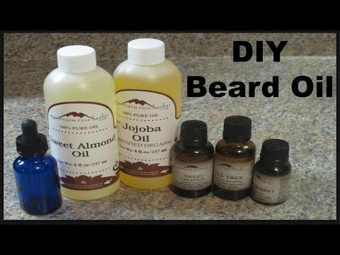 DIY Beard Oil - Sweet Mint Recipe!