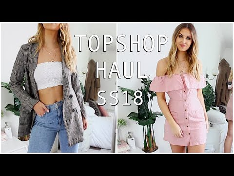 TOPSHOP TRY ON HAUL | SPRING / SUMMER