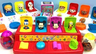 Pop Up Toys Learn Colors & Numbers with Disney Mickey Mouse Clubhouse Paw Patrol Disney Surprise