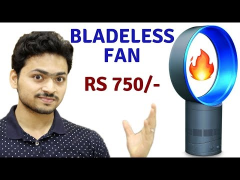 Cheap Bladeless Fan | Unboxing & Review | Tech Unboxing 🔥