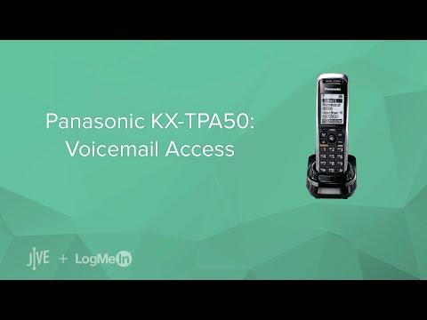Panasonic KX-TPA50: Voicemail Access
