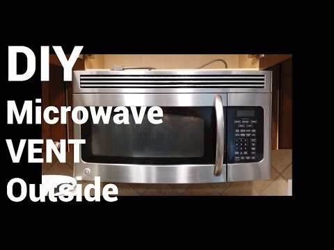 Over Range Microwave Vent to Outside