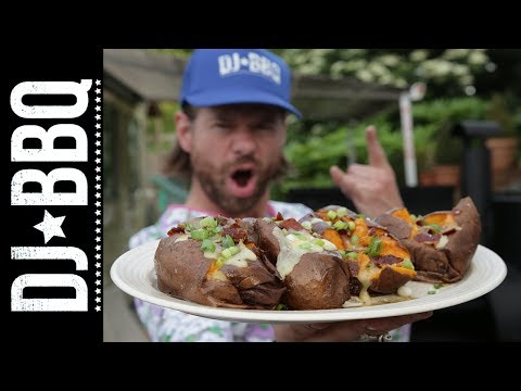 Ultimate Smoked Sweet Potato | DJ BBQ