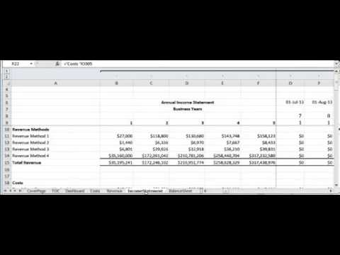 ULTIMATE FINANCIAL PROJECTION TEMPLATE