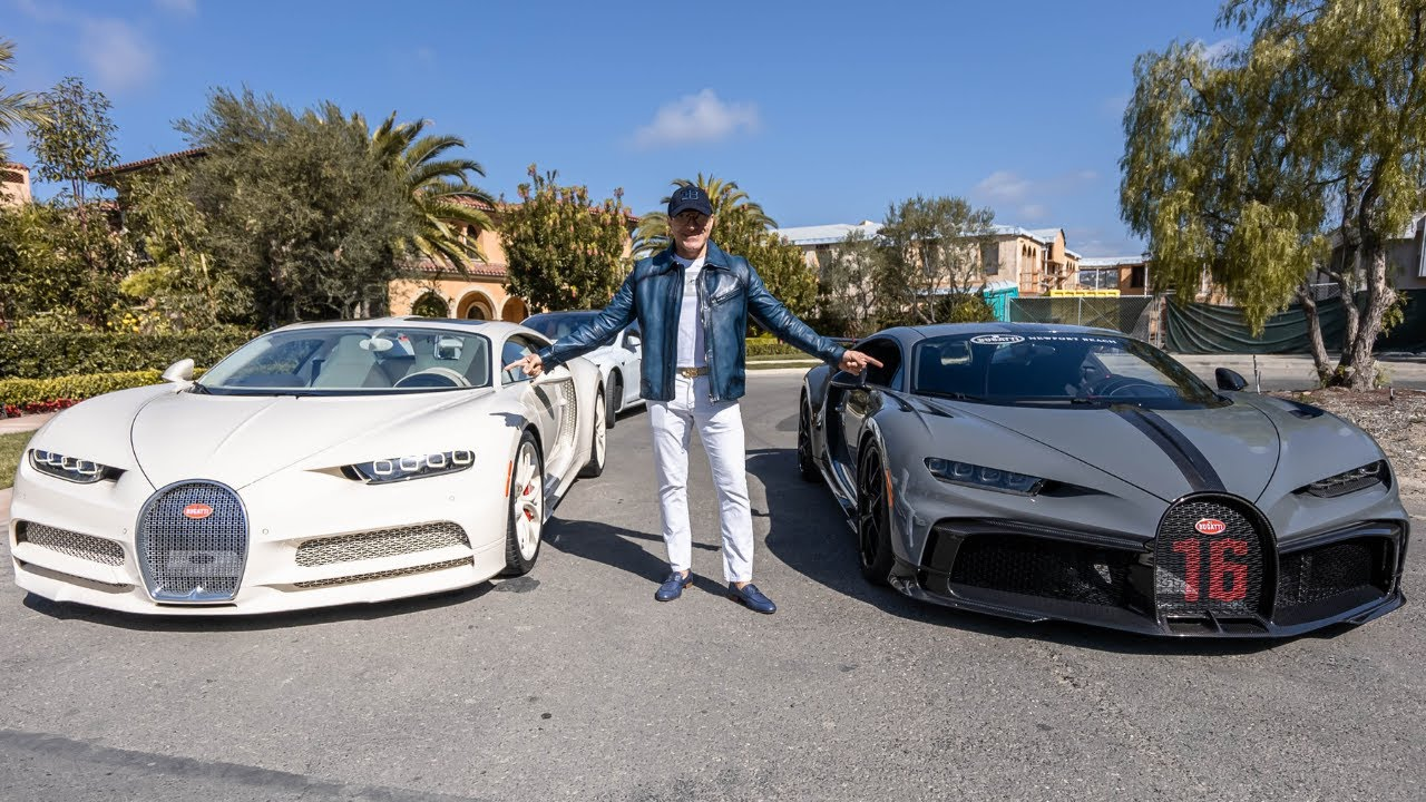 TIME TO ADD A BUGATTI CHIRON PUR SPORT TO THE GARAGE?? || Manny Khoshbin