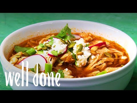 How To Make Mexican Chicken Stew Easily With The Instant Pot | Recipe | Well Done