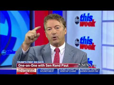 Brilliant: Rand Paul gave Trump's 'Art of the Deal' book to all Freedom Caucus members in Congress