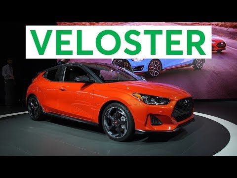 2018 Detroit Auto Show: 2019 Hyundai Veloster Stays Quirky | Consumer Reports