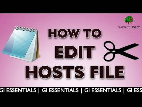 How to Edit Hosts File in Windows 8, 8.1, 10