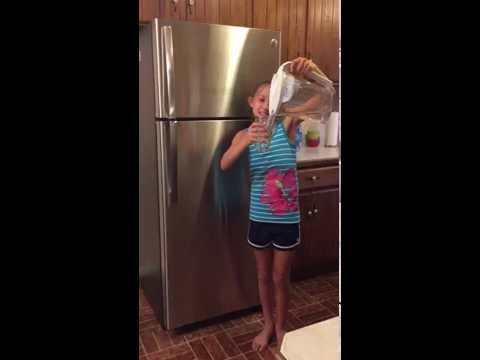 GE Top Freezer Refrigerator with Auto Fill Pitcher