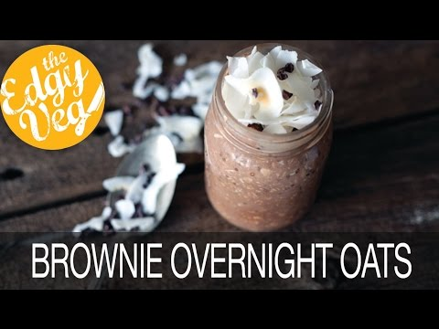 Brownie Batter Overnight Oats Recipe