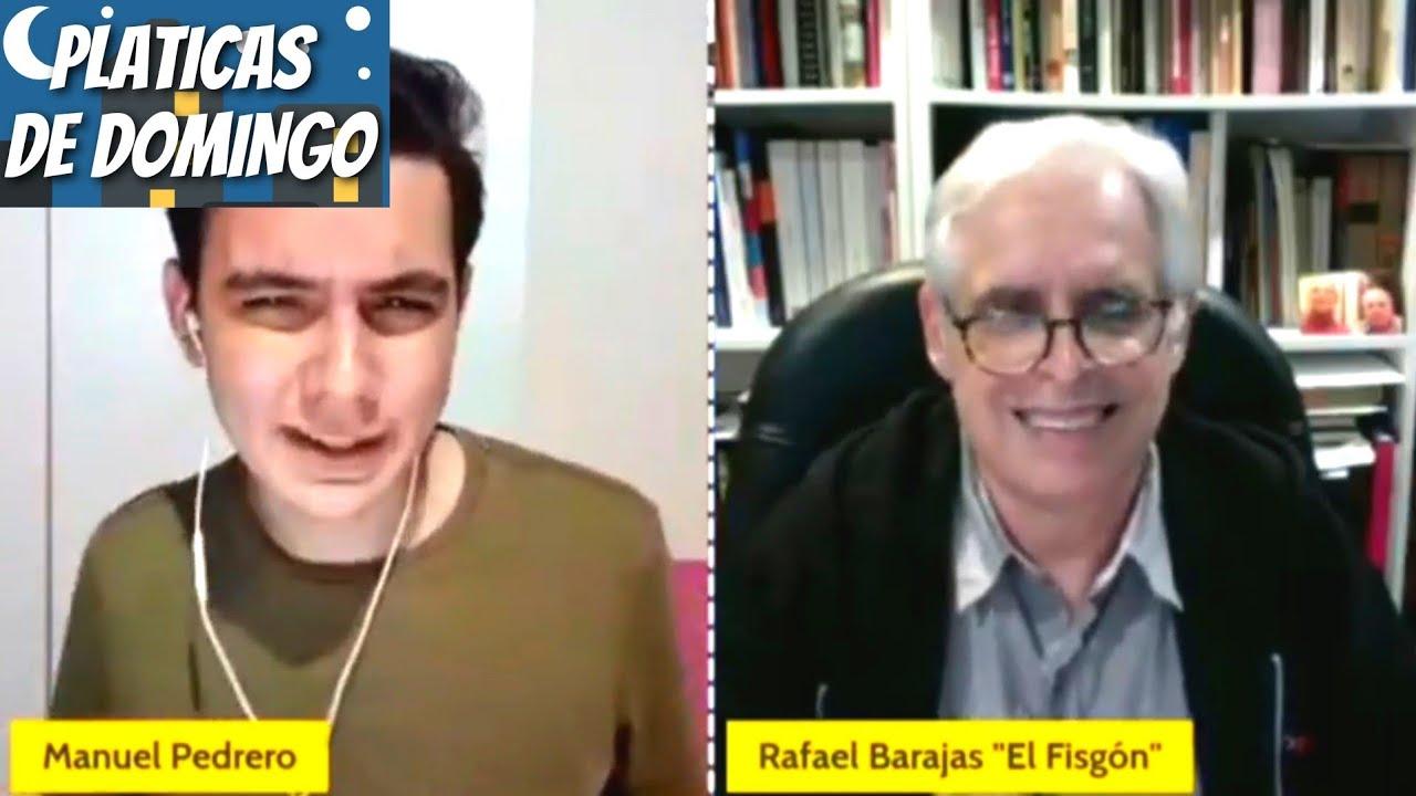 Yo soy un simple monero: Rafael Barajas cuando le digo que es uno de los intelectuales de la época