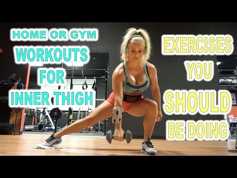 Ultimate Inner Thigh Workout | Home or Gym