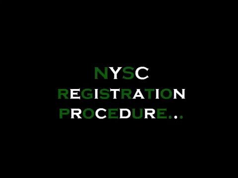 NYSC online registration procedure (live)