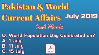 Current Affairs 2019   Pakistan & World Current Affairs