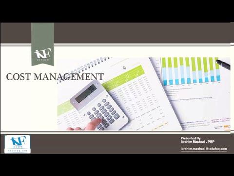 PMP Day 4  Cost Management Part 1- إدارة تكاليف المشروع