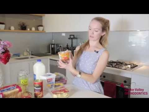 Sarah Gets Braces as an adult, 19 years old and shares eating tips
