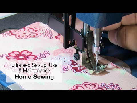 Home Sewing with a Sailrite Ultrafeed Sewing Machine