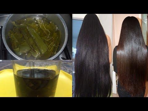 Powerful Hair Growth Treatment with ALOE VERA   Grow Long hair,Thick hair,Soft hair Shiny Hair