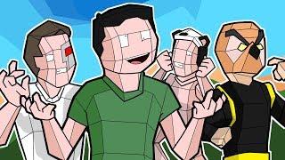 Nogla & Vanoss vs Terroriser & Panda in BEST FPS GAME EVER! - Shooty Squads Funny Moments