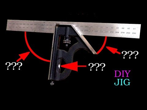 Can I trust my try square? How to check 90°, 45° and the spirit level - DIY JIG