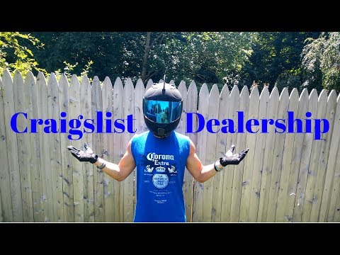 Craigslist Or Dealership?? (Buying A Used Motorcycle)