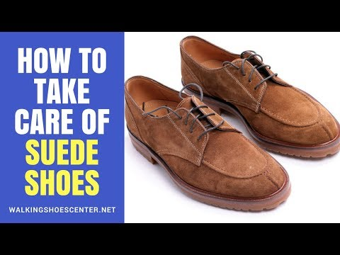 How To Take Care of Suede Shoes  | How to Clean Suede Shoes with Home Products