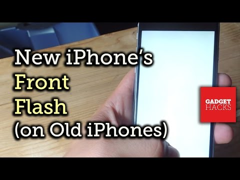 Get the Front-Facing Flash Feature from the New iPhones Right Now [How-To]