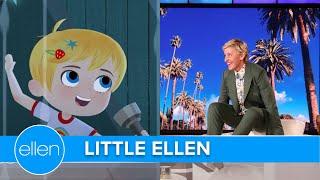 Ellen's New Animated Show 'Little Ellen'!